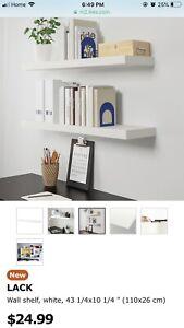 SHELVES - IKEA LACK SHELVES (3)