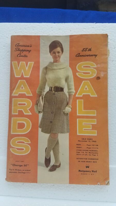 Vintage WARDS Catalog 1960 88th Anniversary Sale Montgomery Ward