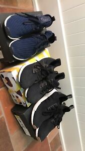 Three adidas sneakers