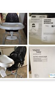 Valco Baby Highchair-As New $85