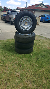 Mazda BT50 Wheels & Tyres Sunbury Hume Area Preview