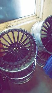 """MHT Forged edition 22"""" rims"""