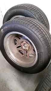 4 x CSA Chrome Rims 18 inch with new Pirelli Scorpion Verde Tyres Mordialloc Kingston Area Preview