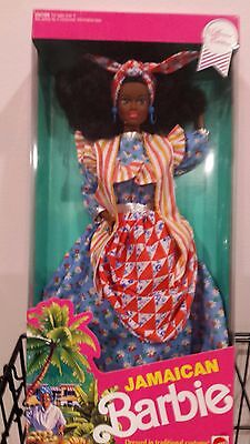 Jamaican Barbie Dolls of the World NRFB 1991 #4647 Special Edition