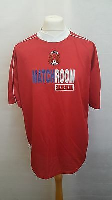 Mens Leyton Orient Home Football Shirt 2000/01 - Red - #9 FLOYD - Size L Large image