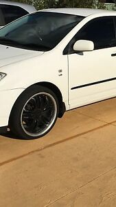 Wheels for toyota corolla Oxley Park Penrith Area Preview