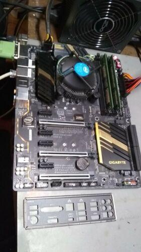 Combo - Gigabyte GA-Z170X-UD5 & Shield, i5 6400 & Heatsink, 8GB DDR4 RAM