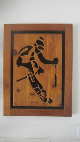 KEN DADDARIO Snow Skier Signed 109/500; Near Perfect Condition