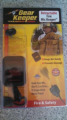 Gear Keeper Retractable Fire Mic Keeper Rt2-4022 Stud M Firefighter Tools