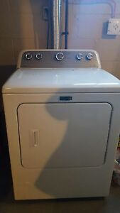 Barely used maytag bravos HE top load laundry pair