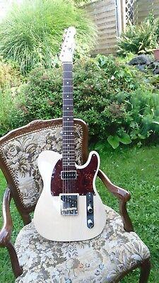 wScustom E-Gitarre mit  einem Esche Body ,und einem Ahornhals gebraucht kaufen  Gelsenkirchen