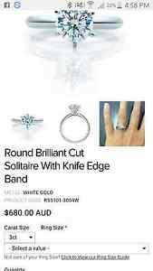 3 carat diamond ring Swansea Lake Macquarie Area Preview
