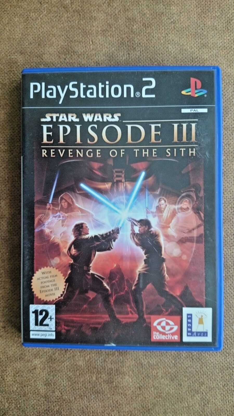 Star Wars Episode III: Revenge of the Sith -- (Sony PlayStation 2005)