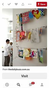 Kids art hanging set
