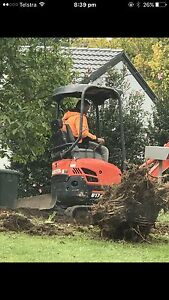 Micks excavation levelling bobcat rubbish removal Strathfield Strathfield Area Preview