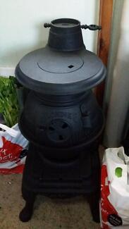 KLONDIKE Large Wood heater Neg.   Flue Not included . Launceston 7250 Launceston Area Preview