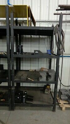 Steel Storage Rack Heavy Duty Industrial Shelves Metal Garage Shop Shelving Unit