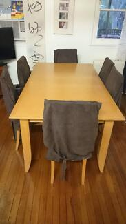 Large Dinning Table West Ryde Ryde Area Preview