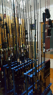 Cheap NEW Fishing rods & reels. Assorted