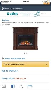 Napoleon electric fire place