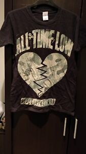 All Time Low Feels Like War T Shirt Size Small