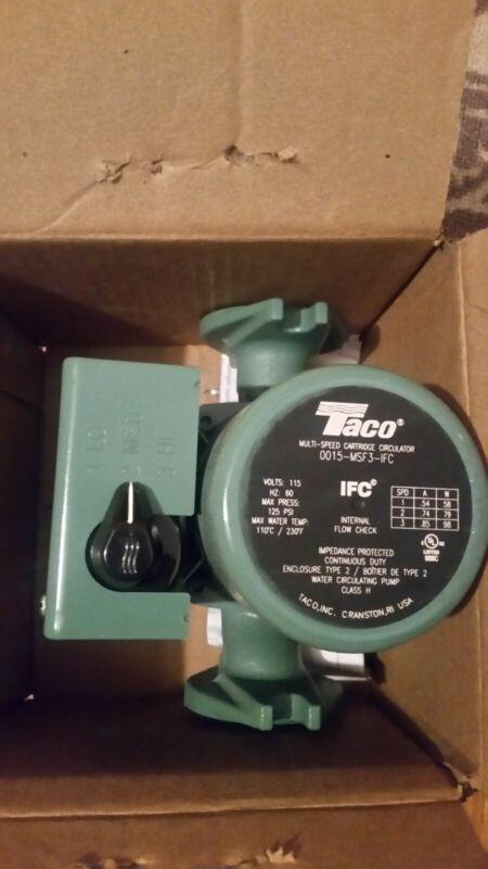 Taco 0015-MSF3-IFC Flanged 3 Speed CI Circulator Pump