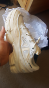 Raf Simons X Adidas Ozweego 2 Bunny, Crean/White, 11.5US, New DS South Melbourne Port Phillip Preview