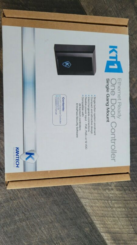 Kantech Single door access control Panel, Gang Box Ethernet-ready KT-1