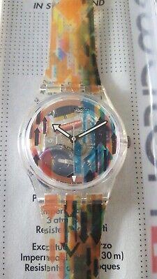 Swatch Direction SKK102 1996 Standard Gents 34mm NOS box Access