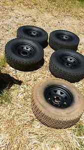 5 x 15x7 sunraysia with tyres Forrestdale Armadale Area Preview
