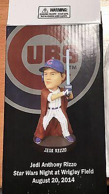 Chicago Cubs World Series Anthony Rizzo Star Wars Jedi Bobblehead W  Ticket Stub