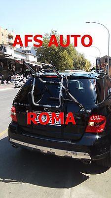 PORTABICI POSTERIORE 3 BICI MERCEDES ML ANNO 2007 BICI UOMO DONNA MADE IN ITALY