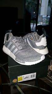 Adidas NMD_R1 limited edition brand new light grey glitch Mermaid Beach Gold Coast City Preview