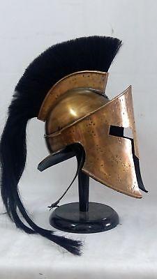 300 Movie Spartan King Leonidas Medieval Knight Helmet Halloween Costumes Gift