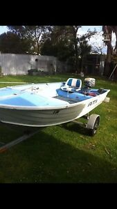 12ft Aluminium boat with 6hp motor Medowie Port Stephens Area Preview