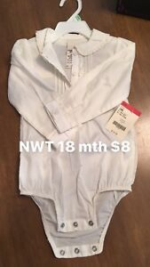 NWT 18 month clothes