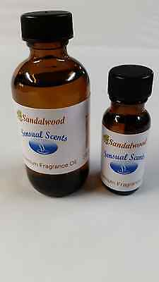 Sandalwood Scented Fragrance Oil - Sandalwood Fragrance oil. Sensual Scents for candles soaps and diffusers