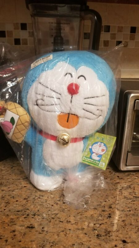 ShoPro Doraemon Super Mega Jumbo Squishy Plushy Toreba New with Tag