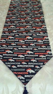 Denver Broncos Reversible Table Runner72x14 Great for Tailgating or Home Parties
