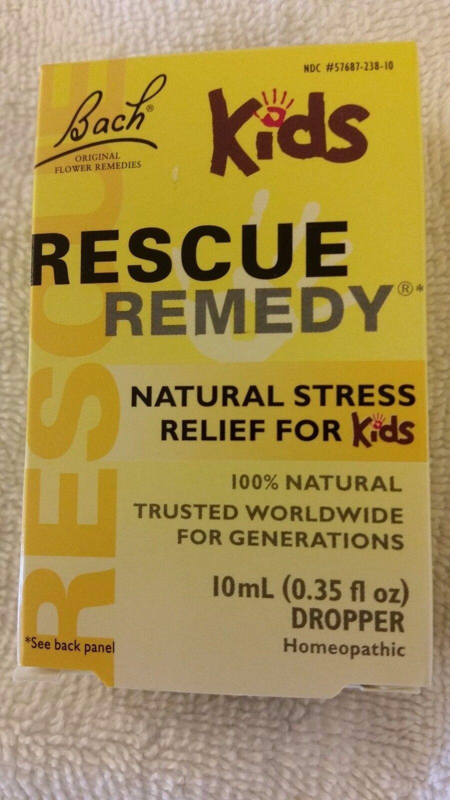 De Bach Original Flower Remedies ENFANTS Rescue Remedy Stress Relief naturel pour les enfants