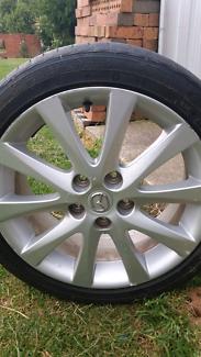 Mazda 6 alloyed  wheel REDUCED to $ 110 ono