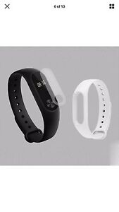 New 2016 Xiao Mi Band 2 Black ~ with free white Band!