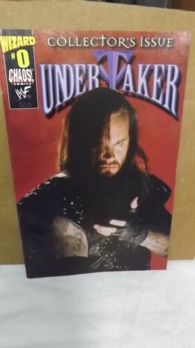 Chaos! Comics Wizard # 0 Undertaker Collector