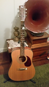 Acoustic guitar  Cort  with stand Stafford Heights Brisbane North West Preview