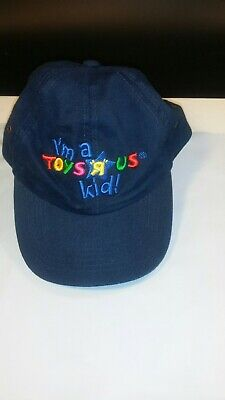 Toys R Us Store Hat Im a Toys R Us Kid Times Square New York USA EUC cap cotton