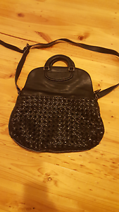 Black leather bag Panorama Mitcham Area Preview