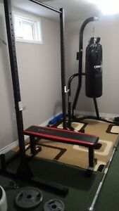 Cap barbell flat bench ONLY