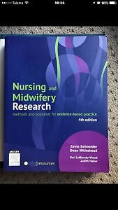 Nursing and midwifery research textbook Waterford West Logan Area Preview