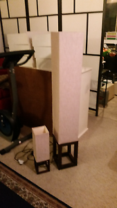 1x PAIR OF LAMPS GOOD CONDITION. Ashgrove Brisbane North West Preview