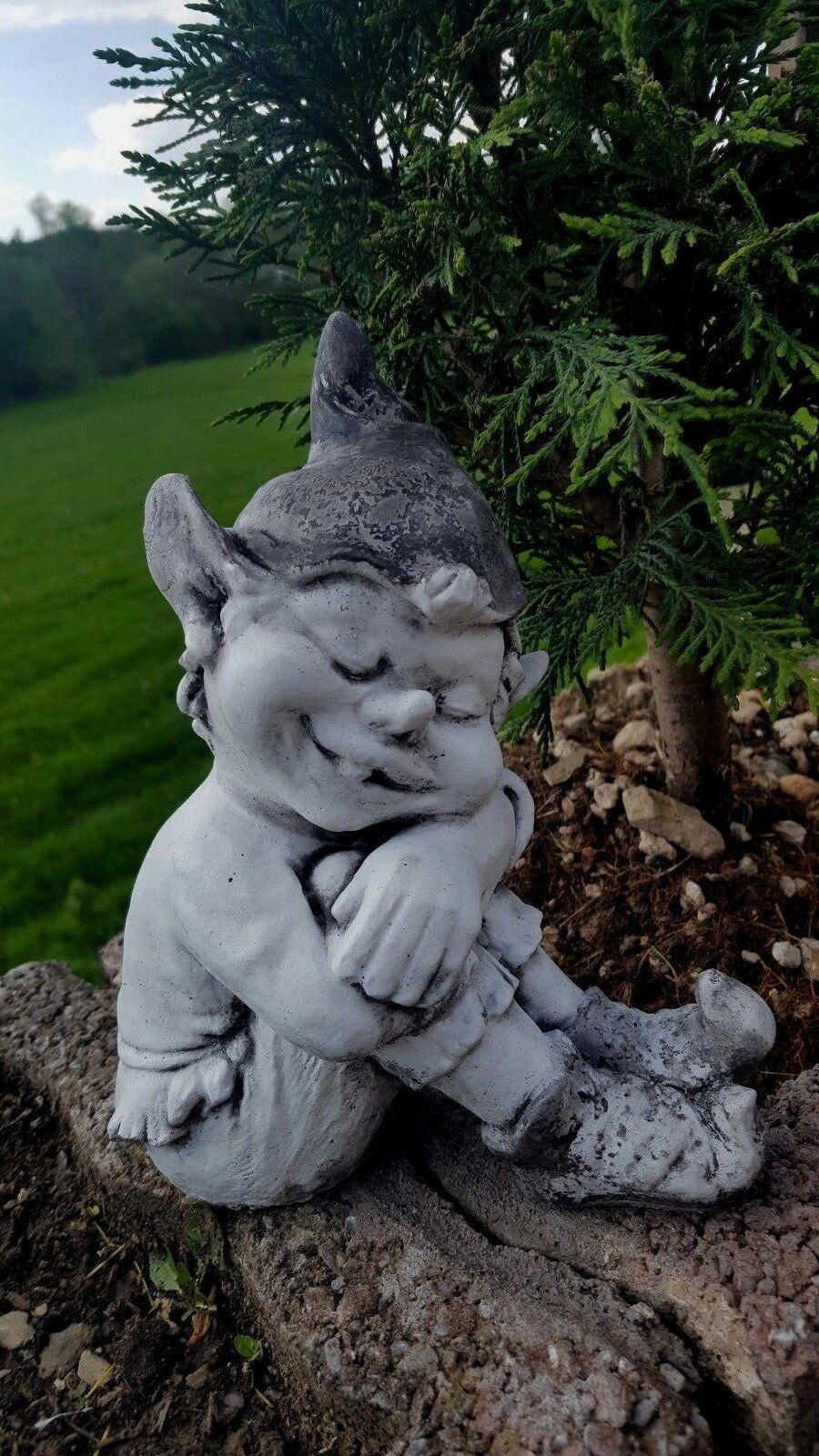 Kobold, Gartenfigur,Troll Steinfigur, Gartenartikel ART T 014